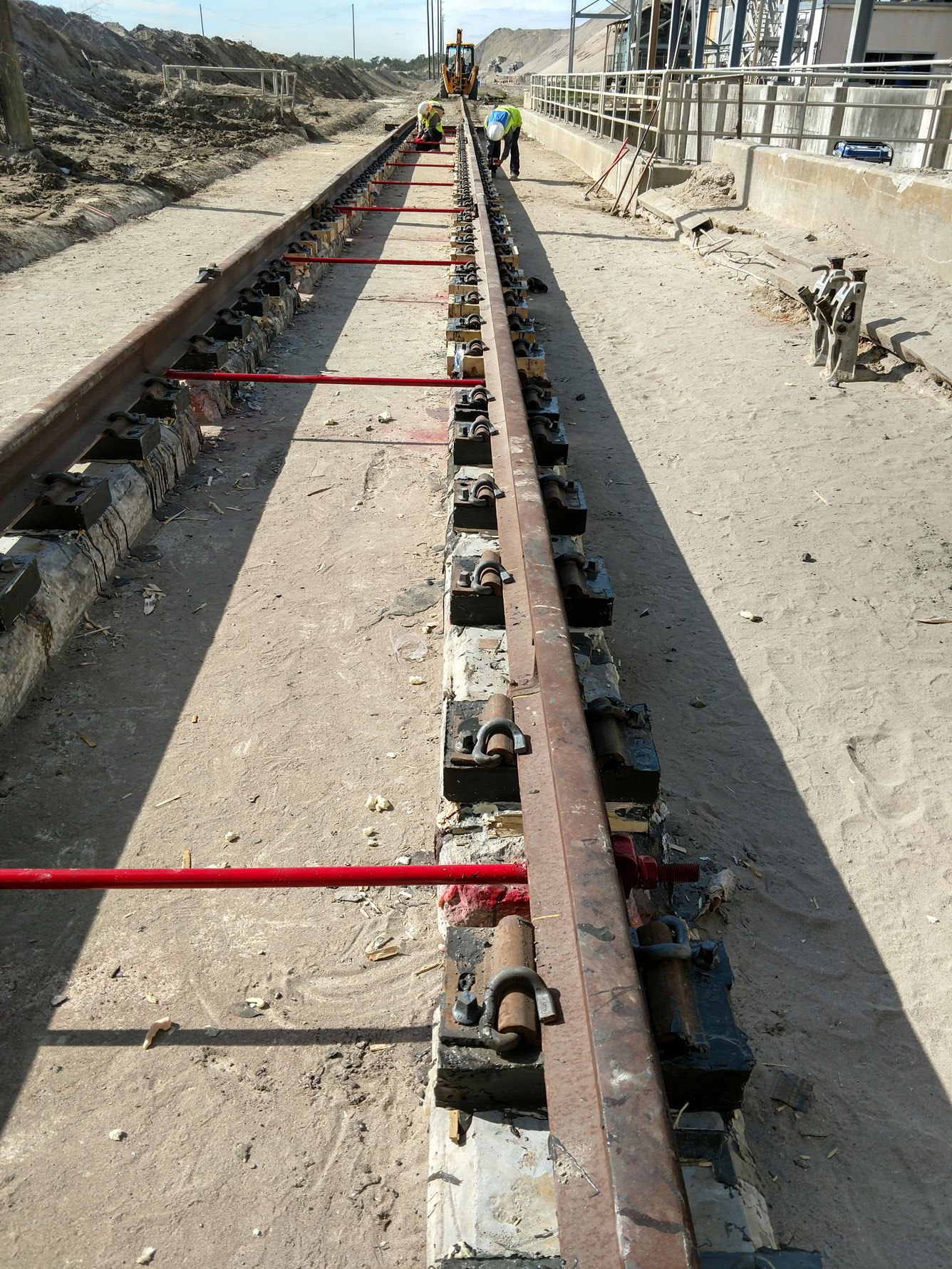 Crane Rail and Direct Fixation Track by Southern National Track