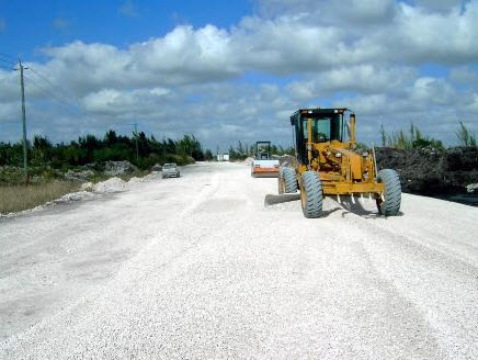 image of Southern National Track railroad contractor roadbed grading and drainage capabilities
