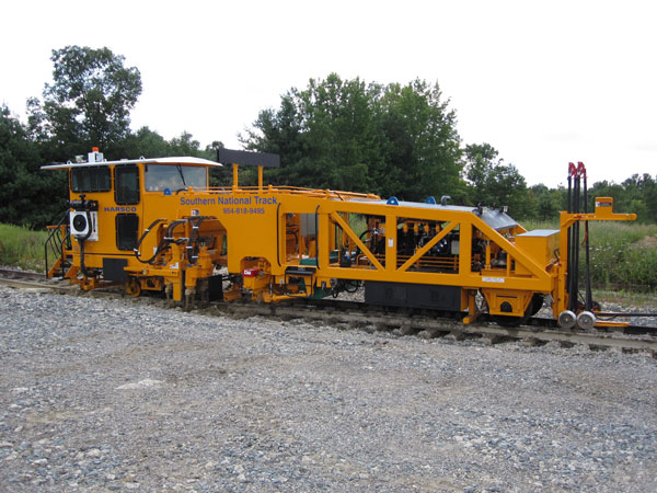Southern National Track's Mark IV Tamper