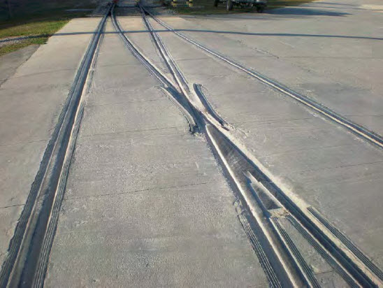 Continuous pour concrete track by Southern National Track