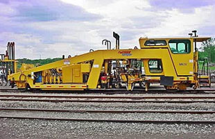 Railroad Construction Equipment - Southern National Track's Mark IV Tamper