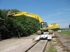 image of Southern National Track grading and drainage capabilities